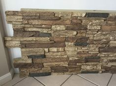 Superior Building Supplies Rustic Lodge 24 in. x 48 in. Faux Grand Heritage Stack Stone Panel at The Home Depot - Mobile