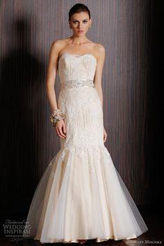 http://Weddinginspirasi.com/2011/03/28/badgley-mischka-bridal-spring-2011-collection/ :badgley mischka bridal spring 2011 - kildare wedding dress