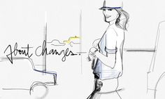 About Changes - When I first started my blog, there were only illustrations and texts.  I love illustration. I could spend hours -- actually, I do spend hours -- illustrating, erasing, starting over. I'm never satisfied. I always feel like I can do better.  Illustration allowed me to express a lot through my...