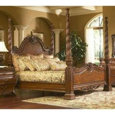 canterbury design | Canterbury Queen Post Bed Great Design Bedroom Furniture Sets 56 R07 ...
