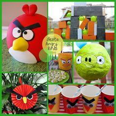 Inspiración para una fiesta Angry Birds / Inspiration for an Angry Birds party