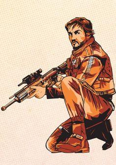 Captain Cassian Andor - Rogue One: A Star Wars Story