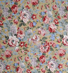Floral Quilt Fabric Shop - Bianca, Moda Classic, for Moda Fabrics, 100 Percent Cotton, 1 yard cut by CurlicueCreations on Etsy