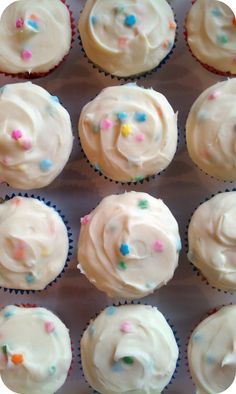 Life's Simple Measures: A Happy Birthday and Homemade 'Funfetti' Cupcakes