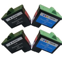 Compatible Ink Cartridge for Lexmark 16/26 use in Lexmark X1185 Printer(2 sets)