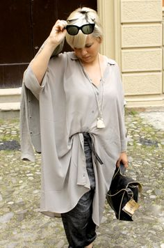 Outfit post in collaborazione con Mast. http://www.dressingiorg.it/outfit/maxi-shirt.html