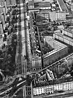 Račianska letecky - predpokladám  rok 1966 Bratislava, Old Photos, City Photo, Nostalgia, Louvre, Building, Places, Travel, Cities