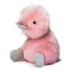 Canard Coin Coin Panaché rose blush Histoire d'Ours (30cm) Plushies, Gifts For Her, Baby, Creatures, Teddy Bear, Coin, Amazing, Toy, Child