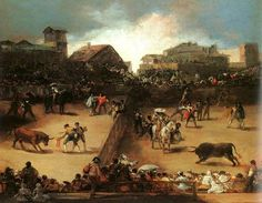 The Bullfight- Francisco Goya