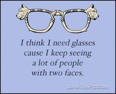 I think I need glasses