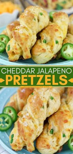 Vegetarian · The perfect game day food! Made with beer then loaded with jalapeños and cheddar, these soft homemade pretzels will leave everyone craving more. Try this appetizer recipe or snack idea for your next… Game Day Snacks, Game Day Food, Easy Appetizer Recipes, Great Appetizers, Baking Soda Bath, Homemade Pretzels, Us Foods, Slow Cooker Recipes, Cheddar
