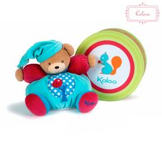 Birth & up. Bring comfort to baby with a Kaloo chubby bear! This adorable bear is colorful as well as educational while baby plays and grows. It even has a cute apple tree on its outfit! Toddler Gifts, Toddler Toys, Baby Toys, Baby Gifts, Apple Tree, Baby Play, Educational Toys, Girl Nursery, Album