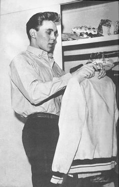 Billy at his wardrobe Billy Fury, Rockn Roll, Special People, How To Look Better, British, Singer, Memories, Queen, Face