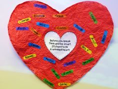 First Grade Wow: It's Hard to Fix a Wrinkled Heart
