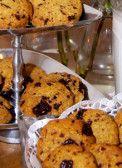 Sugarfree chocolate chip cookies:  Knus en warm op de bank