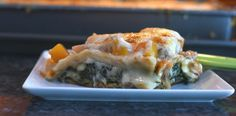 This lasagna, made with spinach, butternut squash and red onion, is a flavor-filled variation of a traditional Passover food. Passover Recipes, Passover Meal, Cooking Hard Boiled Eggs, Spinach Egg, 20 Min, Butternut Squash, Cheesesteak, Farmers Market, Lasagna