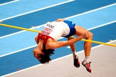 Ivan Ukhov of Russia won the men's high jump competition in the London Olympics with a leap of seven feet and 10.5 inches. Photograph courtesy of Wikimedia Commons.