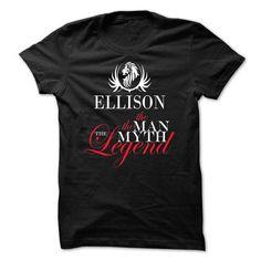 ELLISON, the man, the myth, the legend - #cool gift #student gift. ORDER HERE => https://www.sunfrog.com/Names/ELLISON-the-man-the-myth-the-legend-zklabmrytk.html?68278