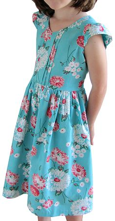 You SEW Girl: Best dress pattern, swirly and lovely
