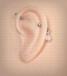 Gold Heart Stud Earrings/ Minimalist Earrings/ Heart Earrings/ Rose Gold Earrings/ Gift for Her/ Dainty Earrings/ Tiny Gold Heart Studs/ Soul mates aren't limited to what we've seen in storybooks. Piercing Industrial Oreja, Industrial Piercing Jewelry, Industrial Earrings, Piercing Eyebrow, Body Piercing, Bar Earrings, Rose Gold Earrings, Cool Ear Piercings, Tongue Piercings