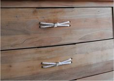FANCY! Design Blog | NZ Design Blog | Awesome Design, from NZ + The World: Steal this idea: for drawer handles