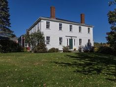 Stately and elegant Federal home that enjoys a beautiful pastoral setting on over eleven acres. Immaculately maintained with grand rooms, preserved period details and the charm of many fireplaces. Ample outbuildings accommodate boat building, shop, and livestock. Possible organic certification, or subdividable.   http://www.legacysir.com/maine-real-estate/42-Upper-Round-Pond-Road-Bristol-maine-04539/1160999/