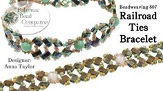 "Make a "" Railroad Ties "" Bracelet ~ Seed Bead Tutorials"
