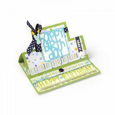Sizzix Framelits Die Set - 661567 Square Card Stand-Ups by Stephanie Barnard