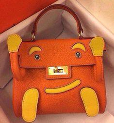 06fd1acc9fb8 Hermes Kelly Doll Bag In Orange  Hermeshandbags  Designerhandbags Hermes  Bags