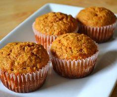 Muffins Integrales de Zanahorias
