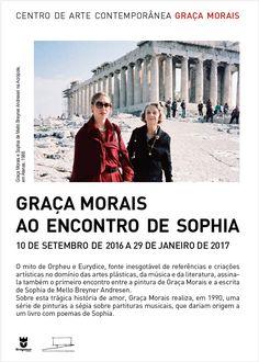 Graça Morais ao encontro de Sophia, CACGM  Exposição 2016/2017