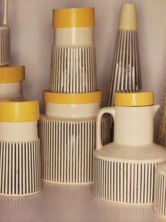 Hornsea Pottery's summertime 1962