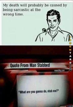 Stabbed Man