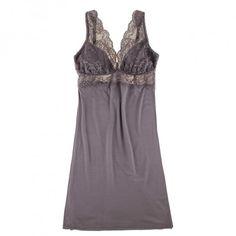 Fleur't From Paris With Love Lace Bust Chemise | Journelle Fine Lingerie. Looks amazingly comfy