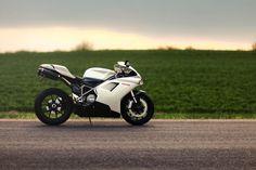 Ducati 848 sport bike.