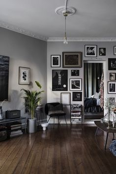 Gravity Home: Charming Swedish Apartment With Parisian Vibe