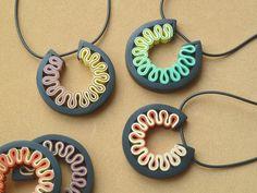 Carina's Clay creations - Rotella Pendants