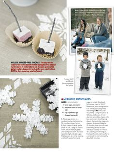 """Country Living February 2013 """"Let It Snow"""" sledding and family fun party styled by Kate Martin of Beautiful Days"""