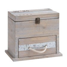 Wooden Box with Drawer