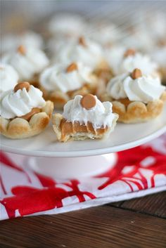 Mini Butterscotch Cream Pies Final 3 by laurenslatest, via Flickr