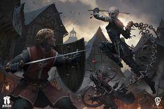 ArtStation - fightscene 04, Bryan Sola