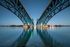 The twins... South Grand Island Bridges - Grand Island, NY