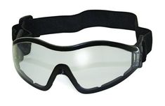 AIRSOFT TACTICAL GOGGLES BB SOFTAIR EYE PRO SOFT RUBBER FRAME 180 VISION