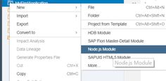 SAP HANA EXPRESS XSA Application Part 2