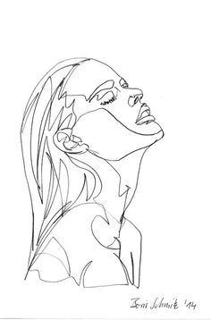 #dessin#minimalisme#femme#BorisSchmitz