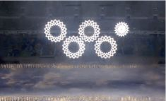 Winter Olympic Opening Ceremony, you had one job