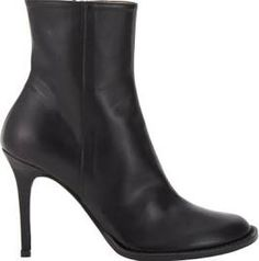 Ann Demeulemeester Side-Zip Ankle Boots-Black