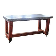 Custom Made Westerly Concrete Table - $1,900 Est. Retail - $900 on Chairish.com