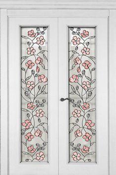 Витраж Кантри Glass Painting, Door Gate Design, Cool Doors, Doors Interior, Door Glass Design, Stained Glass Door, Glass Design, Stained Glass Lamps, Faux Stained Glass