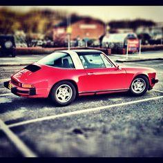 Old School Porsche 911 Targa